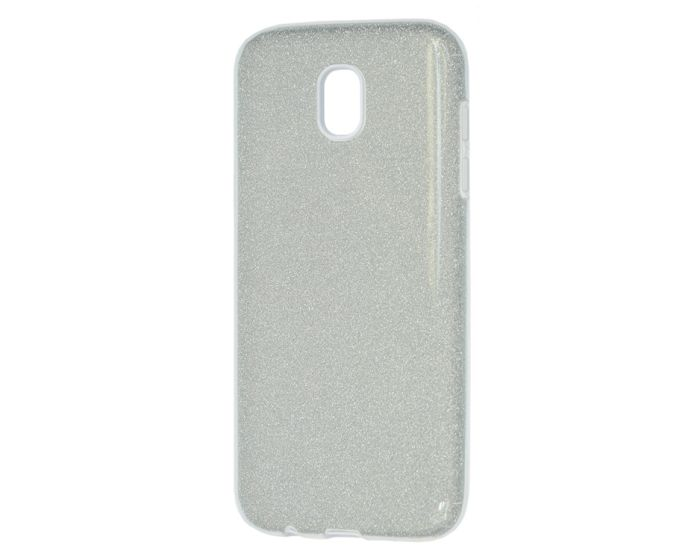 Forcell Glitter Shine Cover Hard Case Silver (Samsung Galaxy J5 2017)
