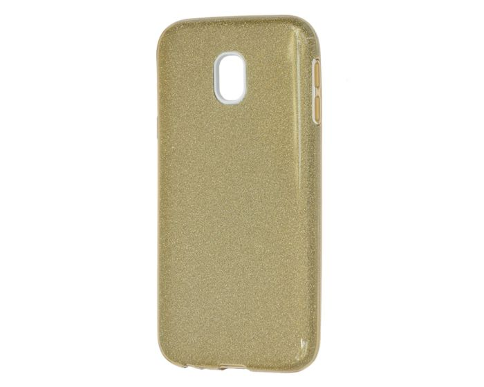 Forcell Glitter Shine Cover Hard Case Gold (Samsung Galaxy J5 2017)