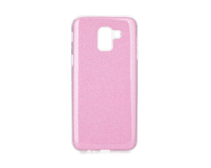 Forcell Glitter Shine Cover Hard Case Pink (Samsung Galaxy J6 2018)