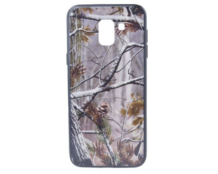 Hard Back Case with TPU Bumper Autumn Trees Light Brown (Samsung Galaxy J6 2018)