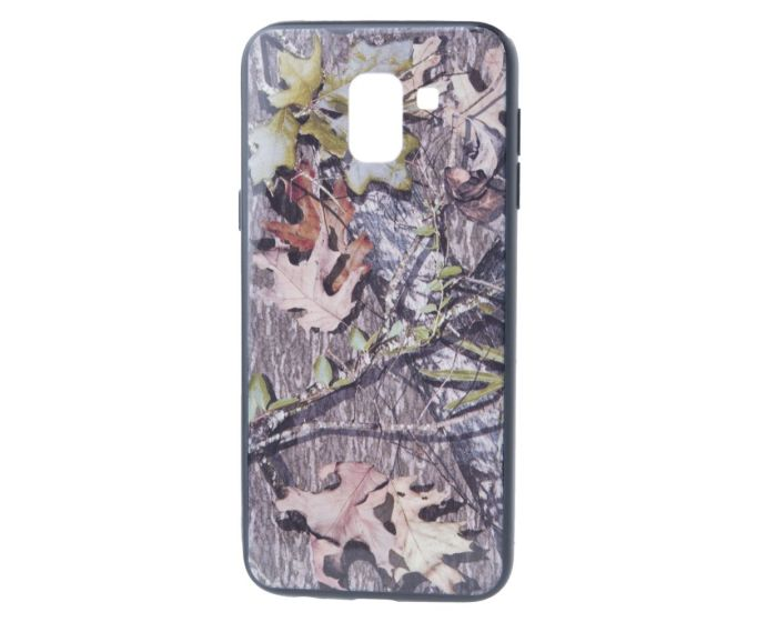 Hard Back Case with TPU Bumper Autumn Trees Leaves (Samsung Galaxy J6 2018)