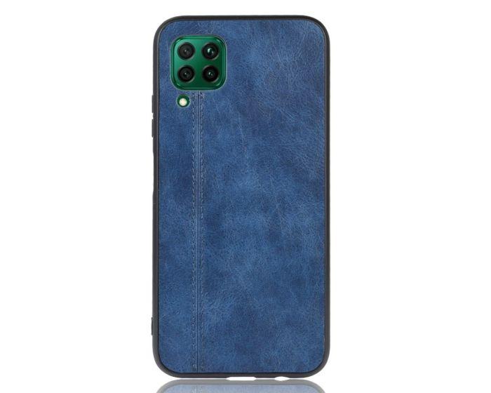 Slim Art PU Leather & TPU Back Case Blue (Huawei P40 Lite)