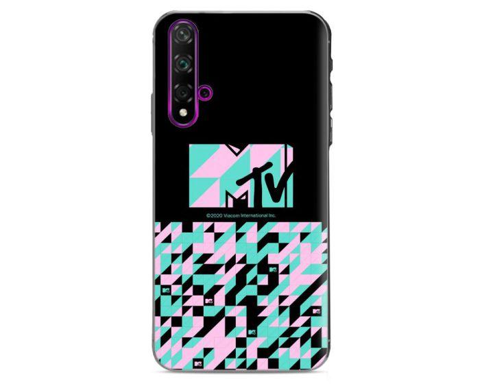 OEM Slim Fit Back Case MTV Θήκη Σιλικόνης Black (Huawei Nova 5T / Honor 20)