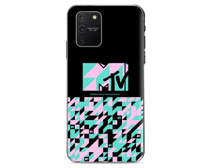 OEM Slim Fit Back Case MTV Θήκη Σιλικόνης Black (Samsung Galaxy S10 Lite)