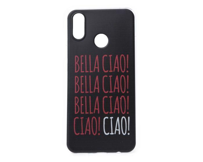 Slim Fit Gel Case La Casa De Papel Θήκη Σιλικόνης Bella Ciao Black (Huawei Honor 8X)