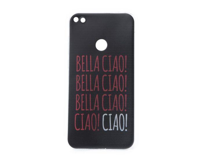 Slim Fit Gel Case La Casa De Papel Θήκη Σιλικόνης Bella Ciao Black (Huawei P8 Lite 2017 / P9 lite 2017 / Honor 8 Lite)