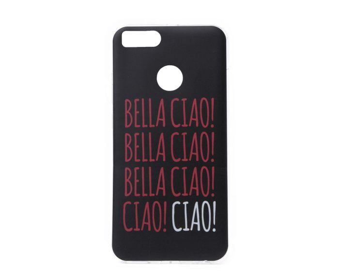 Slim Fit Gel Case La Casa De Papel Θήκη Σιλικόνης Bella Ciao Black (Xiaomi Mi A1 / 5X)