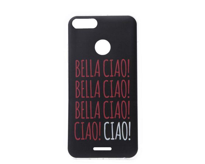 Slim Fit Gel Case La Casa De Papel Θήκη Σιλικόνης Bella Ciao Black (Xiaomi Redmi 6)