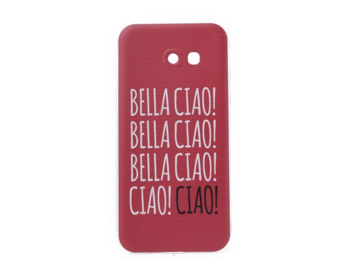 Slim Fit Gel Case La Casa De Papel Θήκη Σιλικόνης Bella Ciao Red (Samsung Galaxy A5 2017)