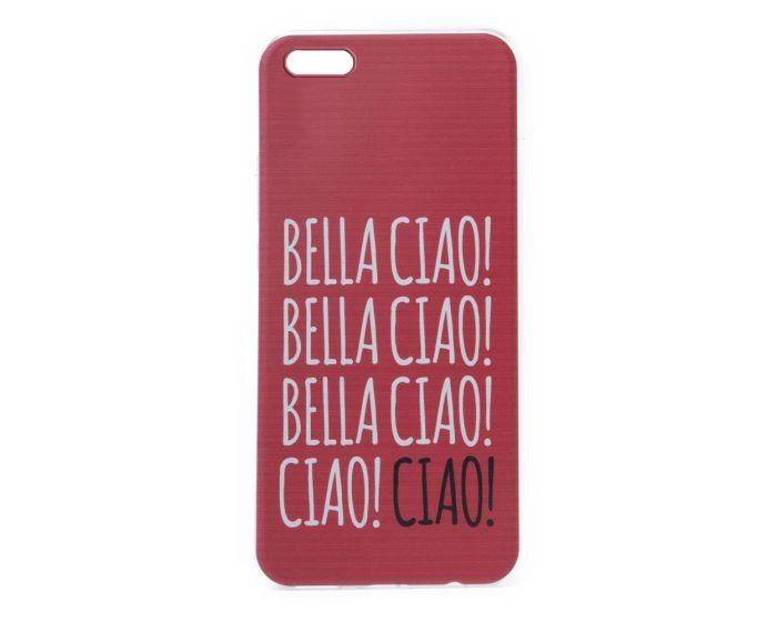 Slim Fit Gel Case La Casa De Papel Θήκη Σιλικόνης Bella Ciao Red (Huawei Y5 2018 / Y5 Prime 2018)