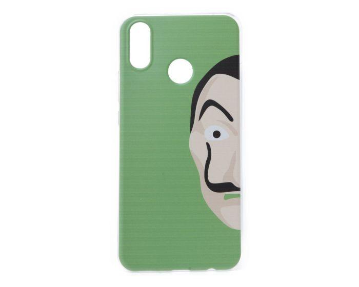 Slim Fit Gel Case La Casa De Papel Θήκη Σιλικόνης Dali Green (Xiaomi Redmi Note 5)