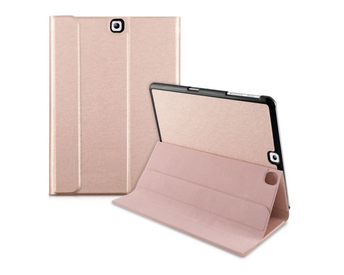 KWmobile Ultra Slim Smart Cover Case (34632.81) με δυνατότητα Stand - Rose Gold (Samsung Galaxy Tab S2 9.7 - T810 / T815)