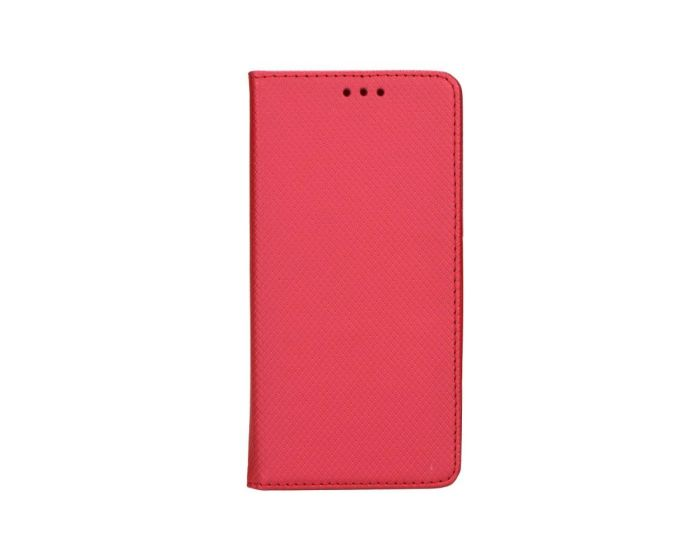 Forcell Smart Book Case με Δυνατότητα Stand Θήκη Πορτοφόλι Κόκκινη (Huawei Ascend P8)