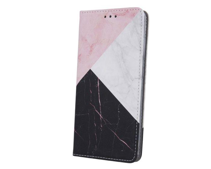 Smart Trendy Magnet Wallet Case Θήκη Πορτοφόλι με δυνατότητα Stand Marble 3 (Xiaomi Poco M3 / Redmi 9T)