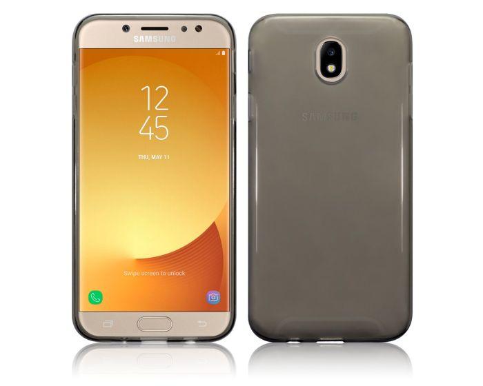 Terrapin Θήκη Σιλικόνης Slim Fit Silicone Case (118-002-652) Smoke Black (Samsung Galaxy J7 2017)