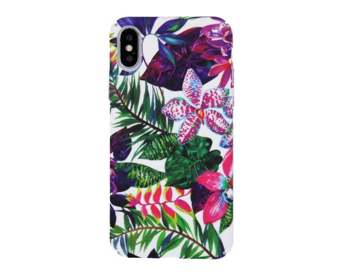 Smooth3 Plastic Case Σκληρή Θήκη PC - Flowers (iPhone XR)