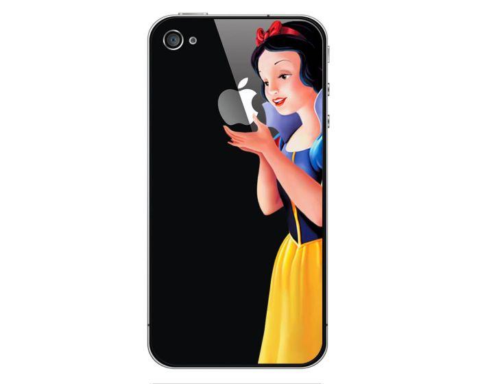 Ultra Thin Snow White Case Πλαστική Θήκη (iPhone 4 / 4s) BULK