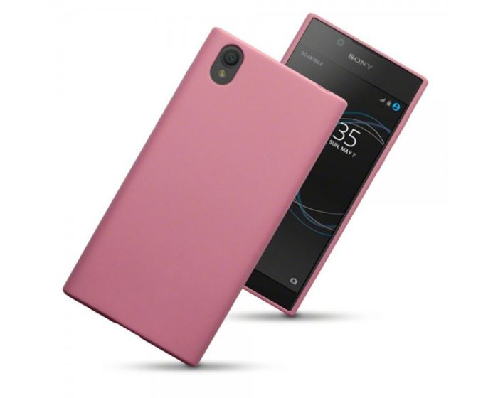 Terrapin Θήκη Σιλικόνης Slim Fit Silicone Case (118-005-389) Solid Pink Matte (Sony Xperia L1)