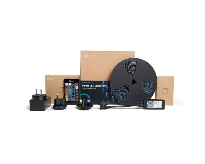 Sonoff L1-5M LED Strip 5m (IM180529002) LED Ταινία RGB με Τηλεκοντρόλ και WiFi