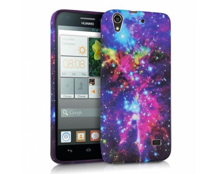 KWmobile Galaxy Design Silicone Case (28782.05) Θήκη Σιλικόνης (Huawei Ascend G620s)