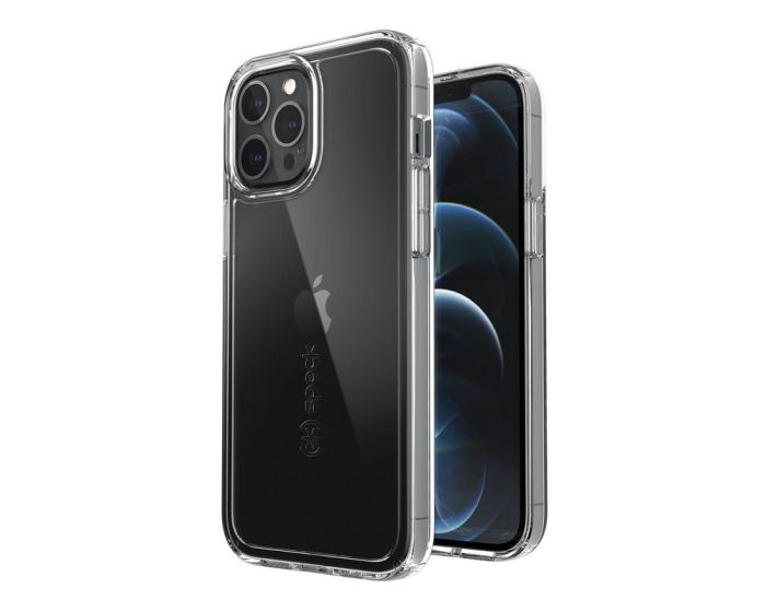 Speck Gemshell Microban Case & Tempered Glass - Διάφανο (iPhone 12 Pro Max)