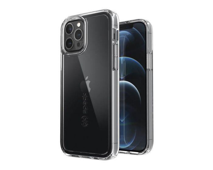 Speck Gemshell Microban Case & Tempered Glass - Διάφανο (iPhone 12 / 12 Pro)