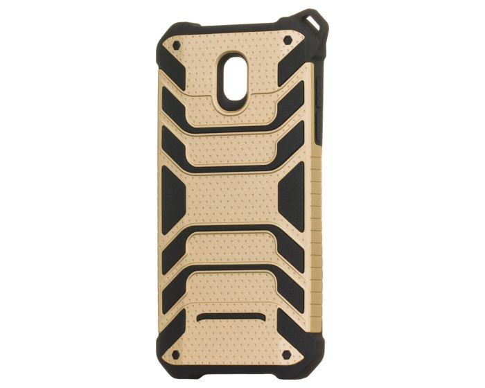 Spider Hybrid Armor Case Rugged Cover Gold (Samsung Galaxy J5 2017)