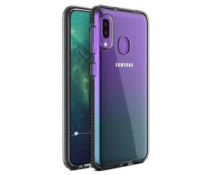 Spring Case Διάφανη Θήκη Σιλικόνης Black (Samsung Galaxy A20e)