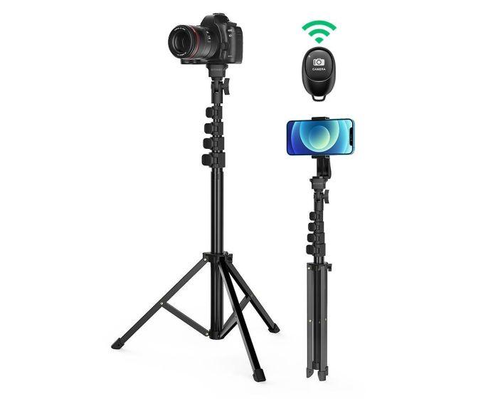 BlitzWolf BW-STB1 Stable Tripod Selfie Stick για Κινητά / Κάμερες - Black