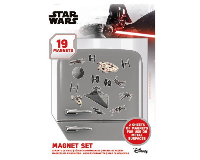 Star Wars (Death Star Battle) Magnet Set - Μαγνητάκια Ψυγείου 18x24cm