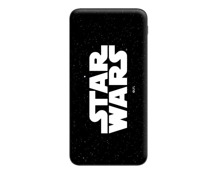 Star Wars Power Bank 10000 mAh Εξωτερική Μπαταρία - 001 Black