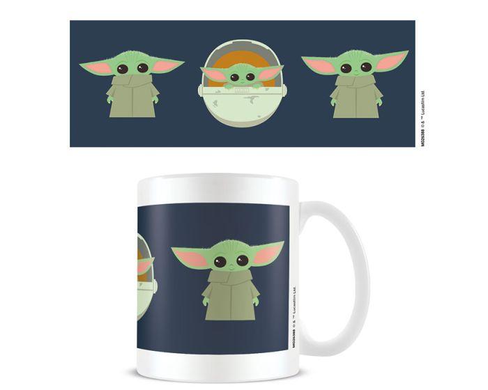 Star Wars: The Mandalorian (Illustration) Mug 315ml Κεραμική Κούπα - White