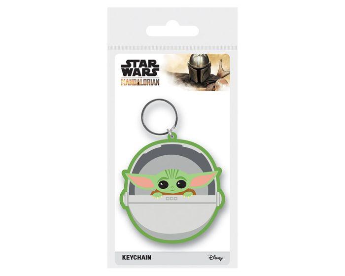 Star Wars: The Mandalorian (The Child) Rubber Keychain - Μπρελόκ