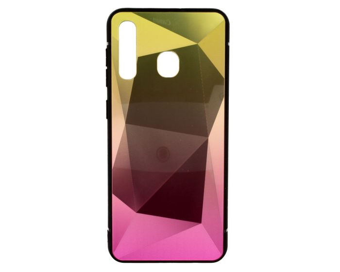 Stone Ombre Hard Case Pink / Gold (Huawei Y6 2019)