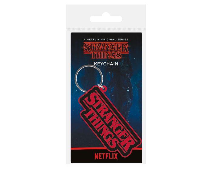 Stranger Things (Logo) Rubber Keychain - Μπρελόκ