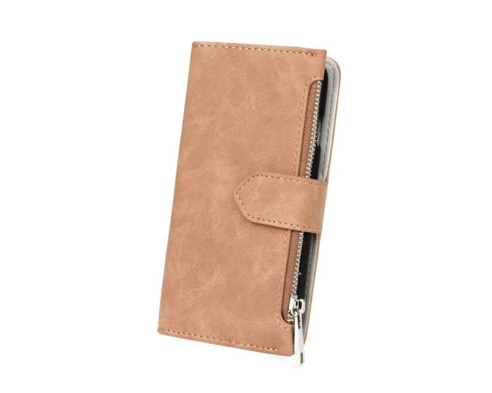 Forcell Commodore 2 in 1 Detachable Wallet Case Brown (Sony Xperia L1)