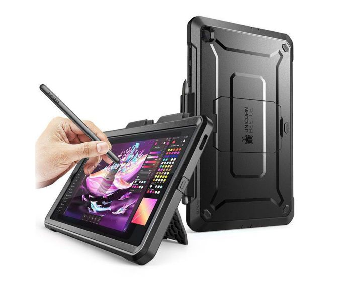 SUPCASE Ανθεκτική Θήκη Unicorn Beetle Pro - Black (Samsung Galaxy Tab S6 Lite 10.4)