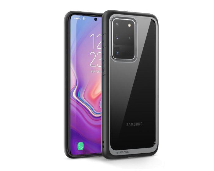 SUPCASE Ανθεκτική Θήκη Unicorn Beetle Style - Clear / Black (Samsung Galaxy S20 Ultra)