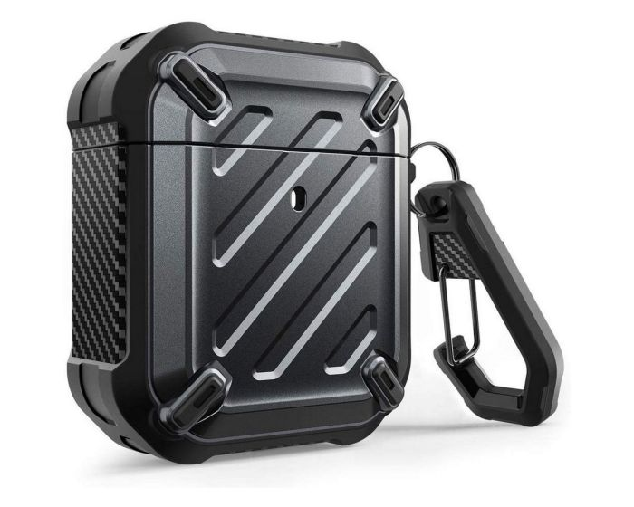 SUPCASE Unicorn Beetle Pro Ανθεκτική Θήκη για Airpods - Black