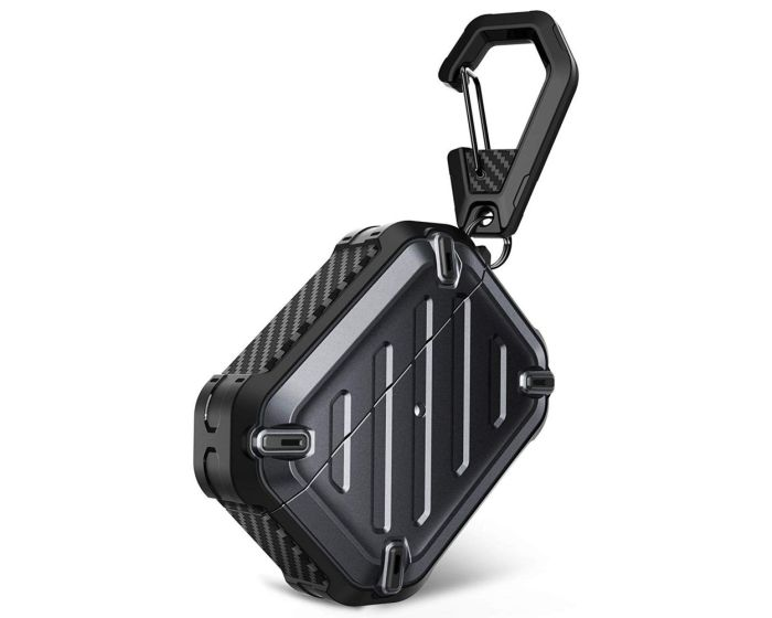 SUPCASE Unicorn Beettle Pro Ανθεκτική Θήκη για Airpods Pro - Black