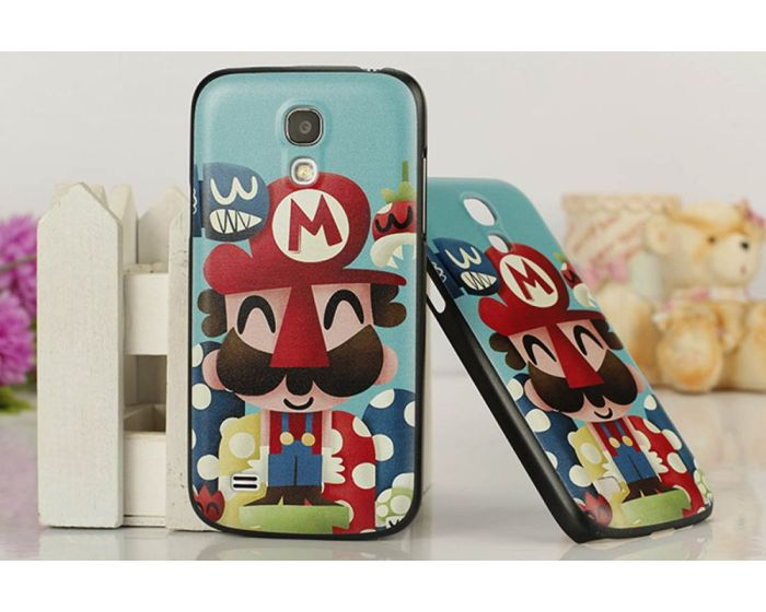 Θήκη Ultra Thin Super Mario Case OEM (Samsung Galaxy S4 mini)