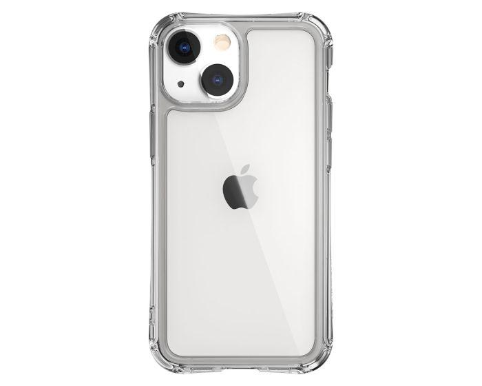 SwitchEasy Alos Anti-Microbial Hybrid Case (GS-103-207-260-65) Clear (iPhone 13 Mini)
