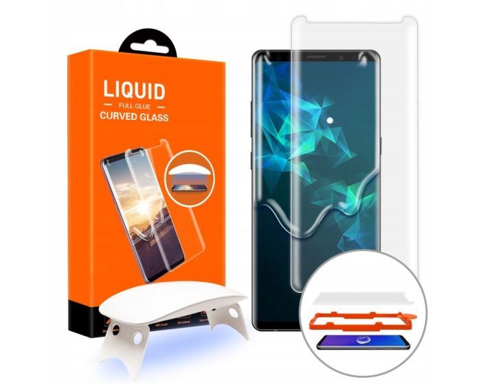 T-MAX Glass (Liquid Dispersion Tech) Full Cover Tempered Glass Screen Protector (Samsung Galaxy Note 9)