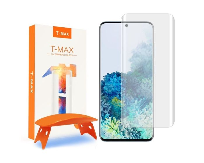 T-MAX Glass (Liquid Dispersion Tech) Full Cover Tempered Glass Screen Protector (Samsung Galaxy S20)