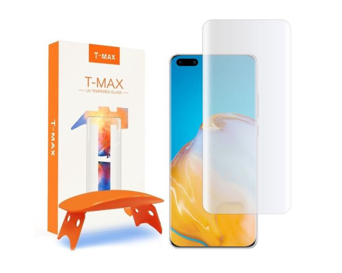 T-MAX Glass (Liquid Dispersion Tech) Full Cover Tempered Glass Screen Protector (Huawei P40 Pro)