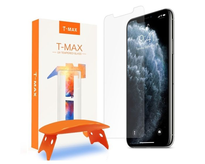 T-MAX Glass (Liquid Dispersion Tech) Full Cover Tempered Glass Screen Protector (iPhone 11 Pro Max)