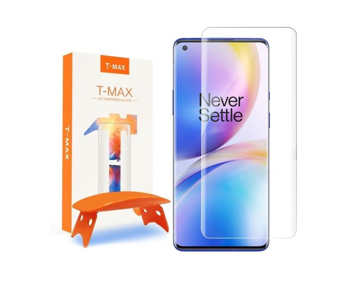 T-MAX Glass (Liquid Dispersion Tech) Full Cover Tempered Glass Screen Protector (OnePlus 8 Pro)