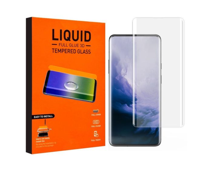 T-MAX Glass (Liquid Dispersion Tech) Full Cover Tempered Glass Replacement (OnePlus 7 Pro / 7T Pro)
