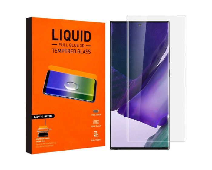 T-MAX Glass (Liquid Dispersion Tech) Full Cover Tempered Glass Replacement (Samsung Galaxy Note 20 Ultra)