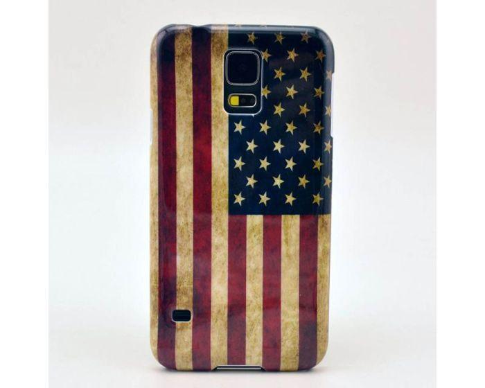 Θήκη Σημαία USA Flag Case OEM (Samsung Galaxy S5 / S5 Neo)